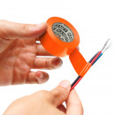 Isolatietape 19 mm · 10 m oranje