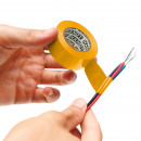 Isolatietape 19 mm · 20 m Geel