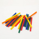 Hot glue stick - 7 mm - colorful 20 pcs / pack