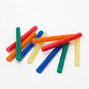 Hot glue stick - 11 mm - colorful 10 pcs / pack