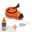 Chalk reel set + paint refiller 30 m