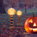 LED solar lamp - pumpkin lantern