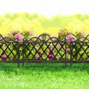 Garden border fence 48 x 36 cm plastic