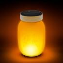 Lampada a LED ad energia solare con effetto fiamma
