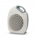 Multifunctional fan heater white/gray