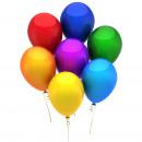 Ballon Set bunt 15 Stück / Pack