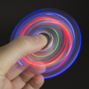 fidget spinner transparenter LED- Crystal