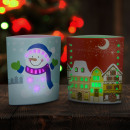 wholesale Consumer Electronics: LED table decor christmas - 15 x 16 cm