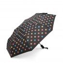 Kleur veranderende paraplu mini - zwart