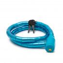 Fahrradschloss 18 mm / 100 cm blau