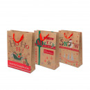 Christmas gift bag 31 x 23 x 11 cm 12 pcs