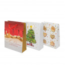Christmas gift bag 31,7 x 26 x 10 cm 12 pcs