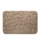 Bath mats (light brown) 60 x 40 cm