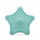 Star Drain Filter silicone blue