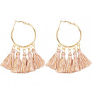 wholesale Jewelry & Watches: Earrings hanging tassels of the circle K1231R