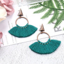 wholesale Jewelry & Watches: Earrings hanging tassels of the circle K1225ZIE