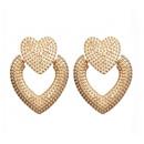Heart earrings K1140