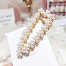 Hairpin XXL gold pearls SP90