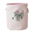 Toy container, basket, laundry bag kitty O