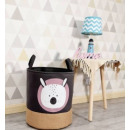 Toy container, basket, teddy bear laundry bag O