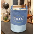 Toy container, basket, laundry bag toys OR