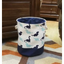 Toy container, basket, dinosaur laundry bag