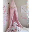 wholesale Bedlinen & Mattresses: Canopy for pompoms, large, thick, pink