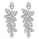 Exclusive crystal earrings K1240