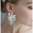 HAN jean wedding earrings with crystals