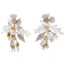HAN jean wedding earrings with crystals
