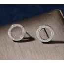 Stainless steel earrings KST1358S