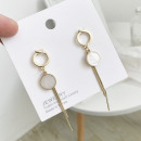 Delicate earrings in gold K171