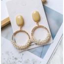 groothandel Sieraden & horloges: Grote expressieve hangende oorbellen K1248