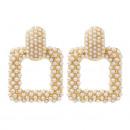 groothandel Sieraden & horloges: Hangende parels oorbellen K1226