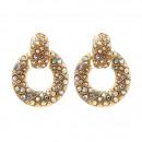 wholesale Earrings: Dangling earrings Crystal opal K1228