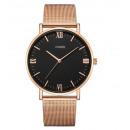mayorista Joyas y relojes: Reloj de mujer con clase de oro rosa Z685