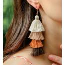 wholesale Jewelry & Watches: Earrings big tassels K1263K