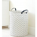 A container for toys or laundry, a basket, a bag o