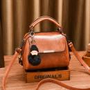Großhandel Taschen & Reiseartikel: Karamelltasche mit Schlüsselring T196KAR