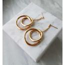 Earrings made of surgical steel KST1549
