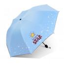 Großhandel Regenschirme: Regenschirm Regenschirm Star blue PAR06N