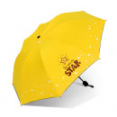 Umbrella umbrella Star yellow PAR06ZO