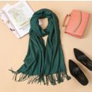 wholesale Scarves & Shawls: Scarf with fringes, bottle wrap SZA40BUT