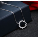 NST957 surgical steel necklace