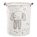 Container for toys basket, laundry bag elephant O