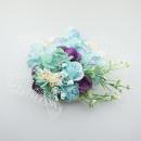 wholesale Curtains & Drapery: TOCZEK WOALKA MODERN FLOWERS BLUE T00N