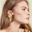 Gold earrings K1285Z