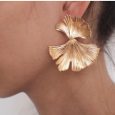 Gold earrings K1287Z