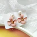 Gold earrings K1290R
