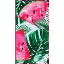 wholesale Bath & Towelling: towel beach rectangular small 150x70 Watermelon RE